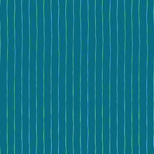 Blue Vertical Hand Drawn Strip...