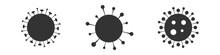 Virus, Bacteria, Microbes Icon...