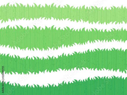 草原の境界ライン素材セット(手描き風ストライプ) Fototapet