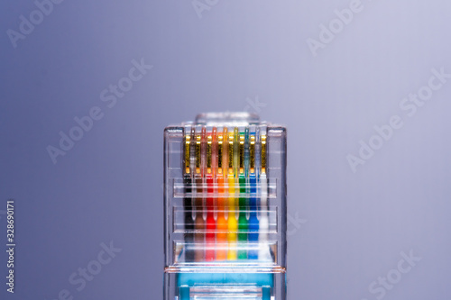 Fényképezés Router console cable for accessing cmmand line interface