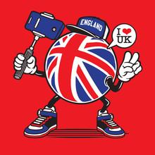 Selfie United Kingdom Union Ja...