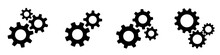 Setting Gears Icon. Cogwheel G...