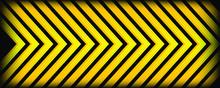 Abstract Light Yellow Arrow Sh...