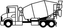 Cement Mixer Truck - Concrete...