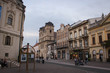 Kosice, Slovakia - October 10, 2014: the Streets of the old town