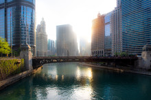A View Of The Wabash Avenue Br...