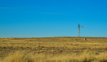 USA, PHENIX, ARIZONA- NOVEMBER 18, 2019:  Aermotor. Desert Wind Turbine In Arizona