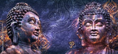Photo Head Smiling Buddha