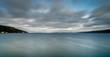 Ruch, rozmycie chmur nad Oslofjordem