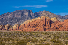 Colorful Rocks Of Red Rock Canyon