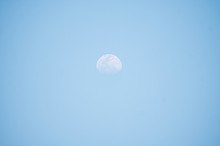 The Daytime Moon Where The Sky...