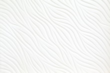 Close Up Abstract White Wavy T...