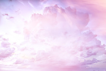 Heavenly Clouds Background / A...