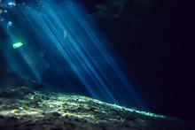 Rays Of Light Underwater Fresh...