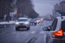 Autumn Traffic In The City, Ca...
