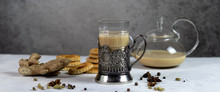 Spicy Milk Indian Tea Masala I...