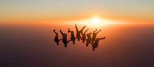 Skydive Sunset