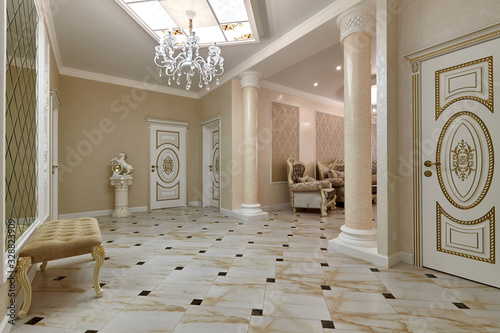 entrance hall Wallpaper Mural