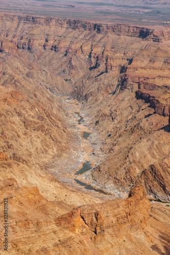Fish River canyon Wallpaper Mural