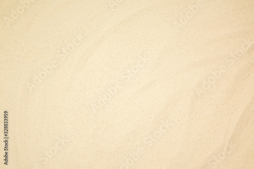 Photo top view sand beach background