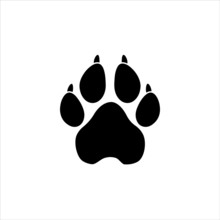 Dog Or Cat Paw Print Pet Animal Foot Mark