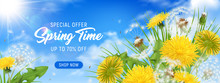 Spring Time Horizontal Poster