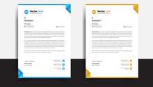 Business Style Letterhead Temp...