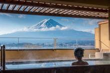 View Of Mount Fuji From Room