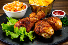 Roast Chicken Drumsticks With ...