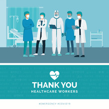 Thank You Doctors And Nurses