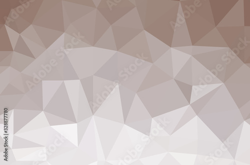 Photo Dark Multicolor vector abstract Low Poly background. Colorful