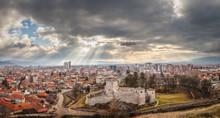 Panorama Of Beautiful Foregrou...