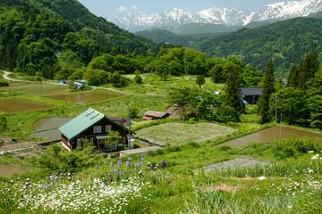Hakuba Village in Nagano Japan