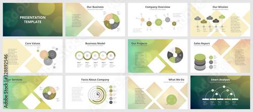 Foto Business presentation templates