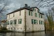 Der kleine Fluß Aa im Münsterlad