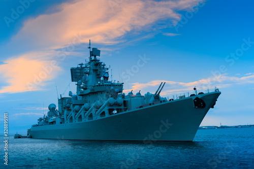 Obraz na płótnie Warship