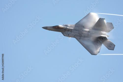Lockheed Martin F-22 Raptor Canvas Print