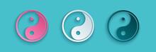 Paper Cut Yin Yang Symbol Of H...