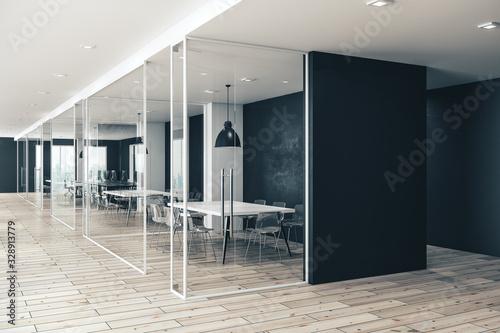 Obraz New coworking office interior - fototapety do salonu