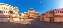 Jaipur City Palace In India, Inner View