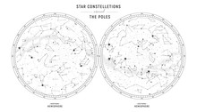 Star Constellations Around The...