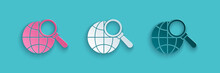 Paper Cut Magnifying Glass Wit...