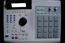 Vintage Drum Machine With Pads...