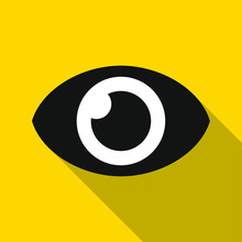 Eye Icon. Illustration - Vecto...
