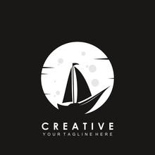 Boat Logo Template Vector Illu...