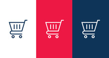Shopping Cart Icon For Web And...