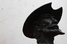 Quijote, Villa Del Carbón, Busto, Estatua, Escultura