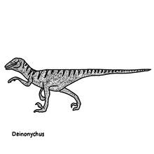 Dinosaur In Mandala Patterns. ...