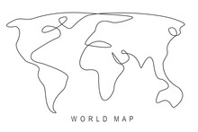 Earth Day Concept, World Map O...