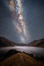 Milky Way Above Queenstown